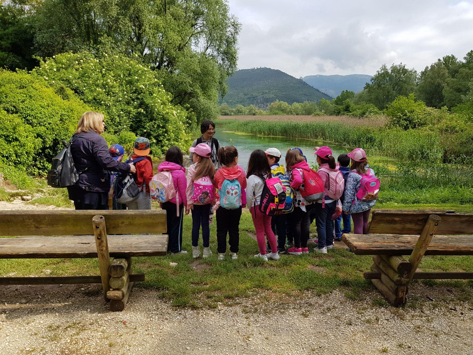 Calendario attività educazione ambientale in Riserva. Estate 2019